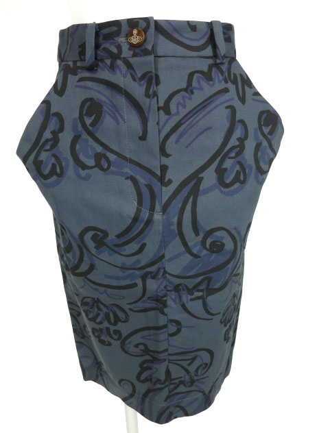Vivienne Westwood RED LABEL ハンドライト柄スカート