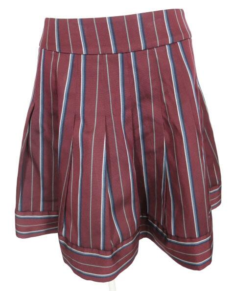 Jane Marple レジメンタルストライプスカート