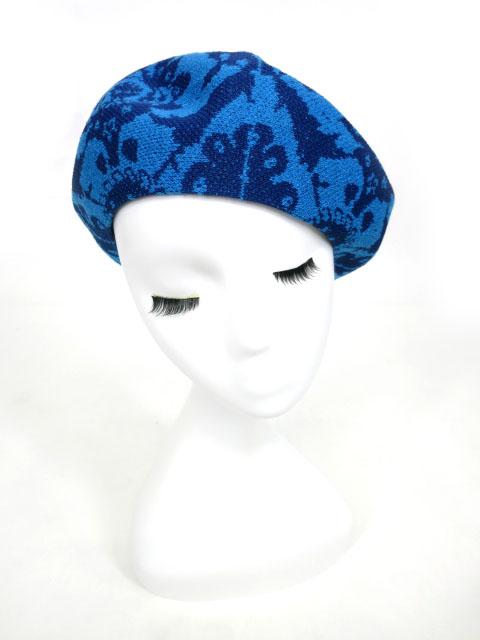 Vivienne Westwood ジャガードベレー帽