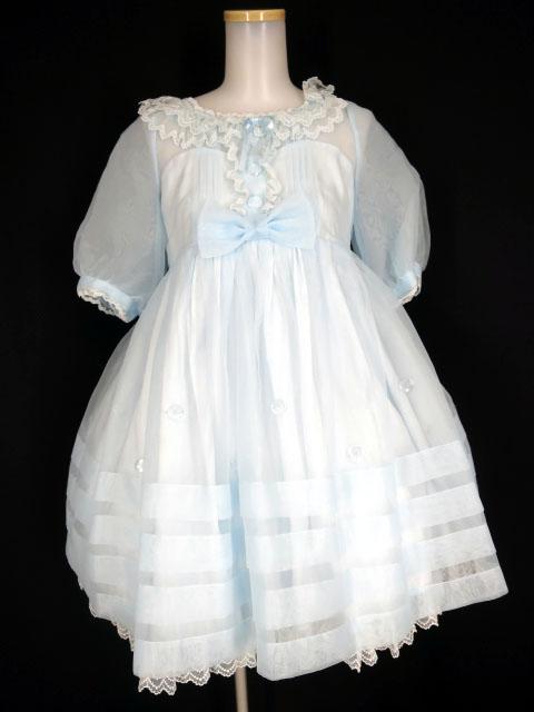 Angelic Pretty ガラスの人形ワンピース&バレッタ セット
