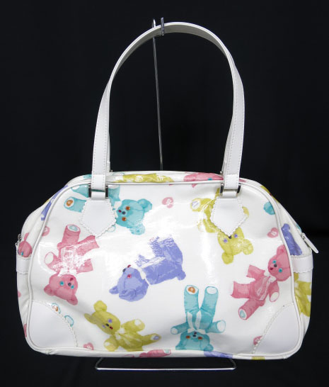 BABY, THE STARS SHINE BRIGHT Dancing BABY Bear 柄 ボストン Bag