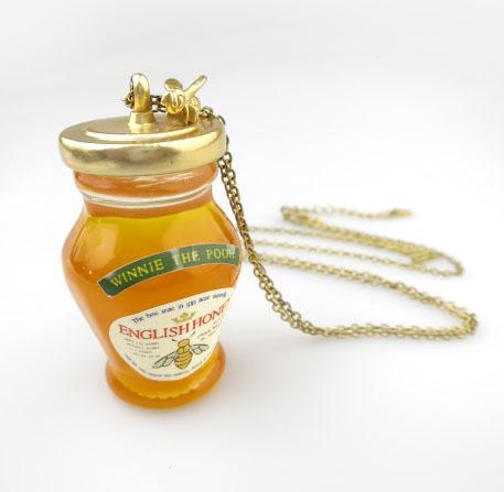 Jane Marple ウィニー・ザ・プー はちみつ瓶ネックレス