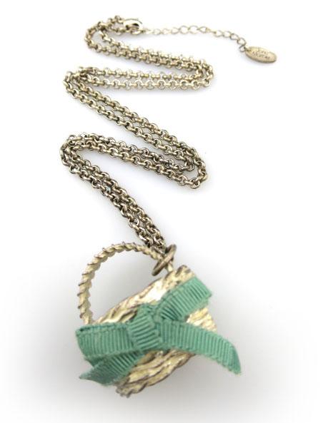 Jane Marple バスケット型ネックレス