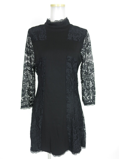 KILLSTAR Crossed Over Lace Dress ワンピース
