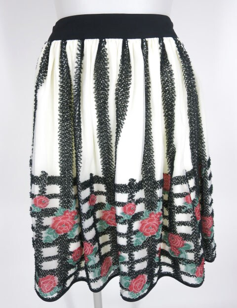 DOLLY GIRL ローズバスケットジャガードスカート