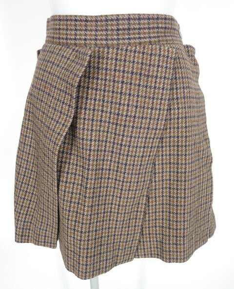 Vivienne Westwood RED LABEL 千鳥格子チェック柄ツイードスカート