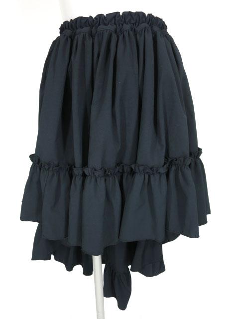 MARBLE 後ろ下がりスカート