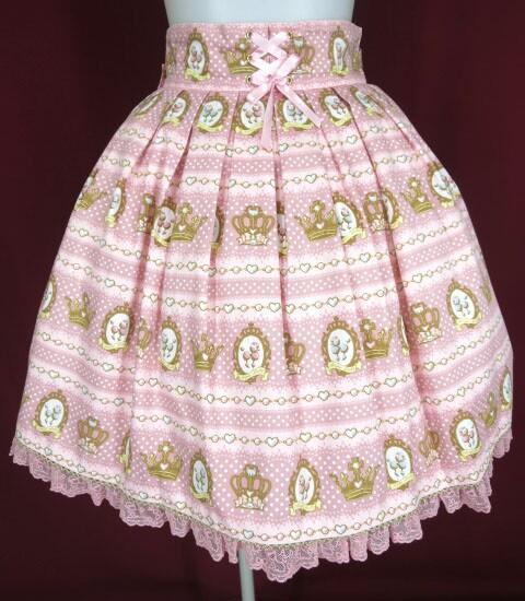 Angelic Pretty ロイヤルプードルスカート