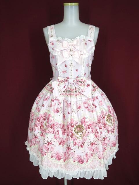 BABY, THE STARS SHINE BRIGHT Le Bouquet Eternel柄ジャンパースカート1型