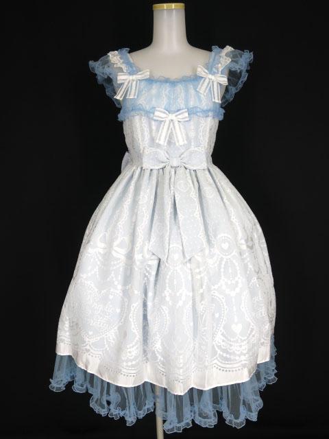 Angelic Pretty Lacy Heart Gardenジャンパースカート