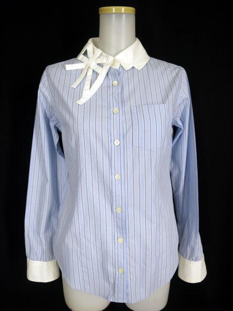 Jane Marple ユニオンジャックカラーのクレリックシャツ