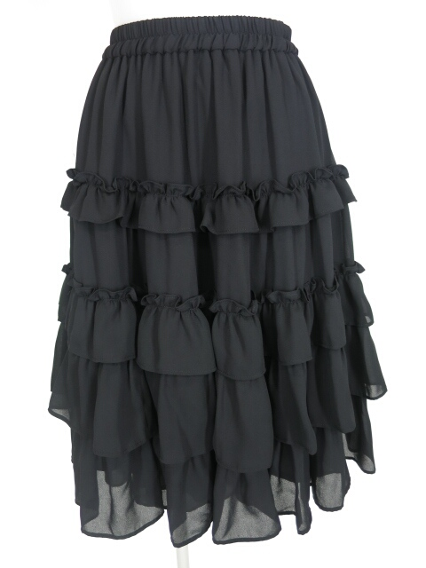 mille fleurs ジョーゼットスカート