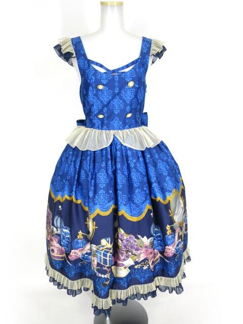 Metamorphose Dress roomバッスルジャンパースカート(ミディアム)