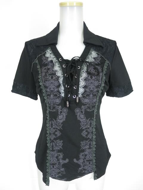 Rozen Kavalier 衿付き半袖カットソー