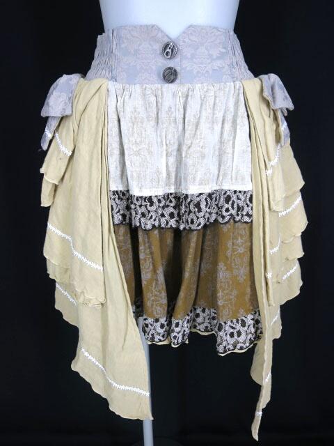 h.NAOTO STEAM サイドリボンスカート