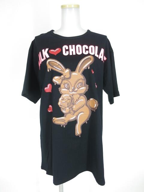 MILK チョコレート バニー Tシャツ