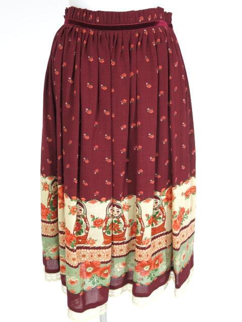 Jane Marple マトリョーシカ スカート