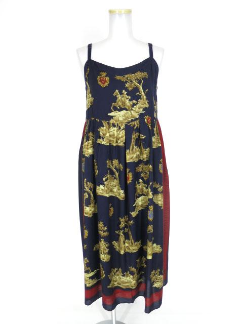 Jane Marple Dans Le Salon Queen's forest ストラップドレス