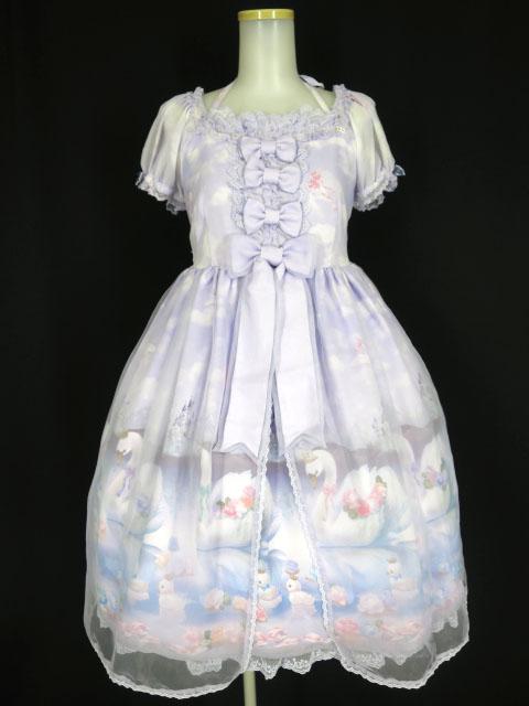 Angelic Pretty Milky Swanミニ袖ワンピース