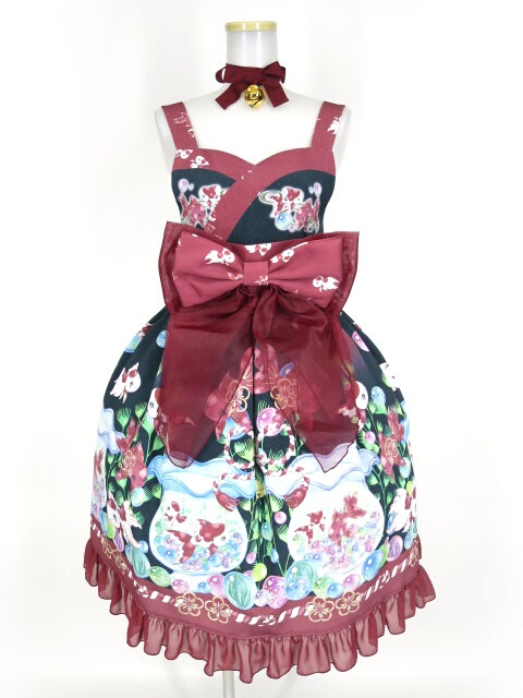 Royal Princess Alice 絢爛金魚帯付きドレス+チョーカーセット