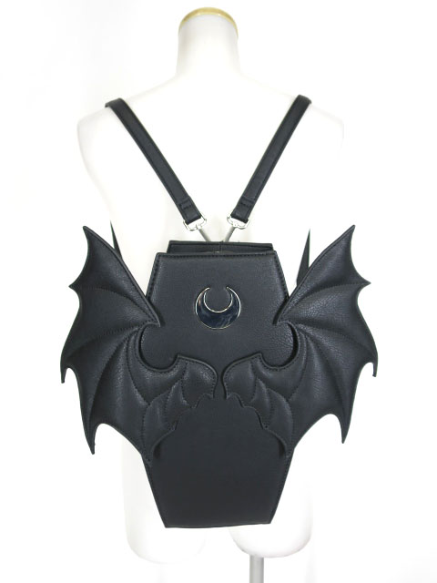 KILLSTAR コウモリ羽根付き棺桶型リュック