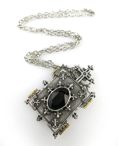 ALCHEMY GOTHIC Orthodox Icon Locket ネックレス