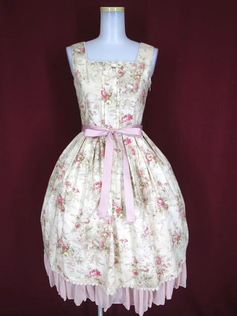 Victorian maiden シフォンフリルジャンパースカート