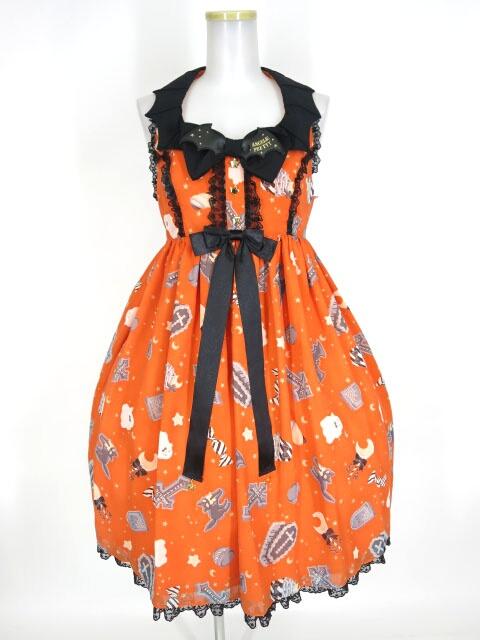 Angelic Pretty Halloween Treats ジャンパースカート(東京店限定カラー)