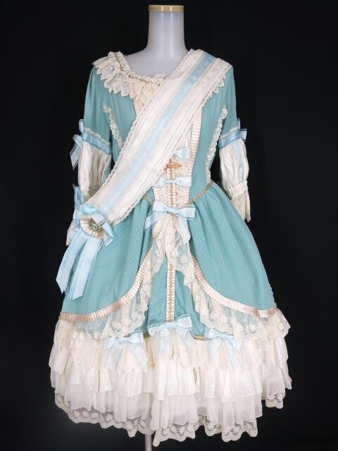 BABY, THE STARS SHINE BRIGHT ×... La robe vert clair(エシャルプ&ドレス)