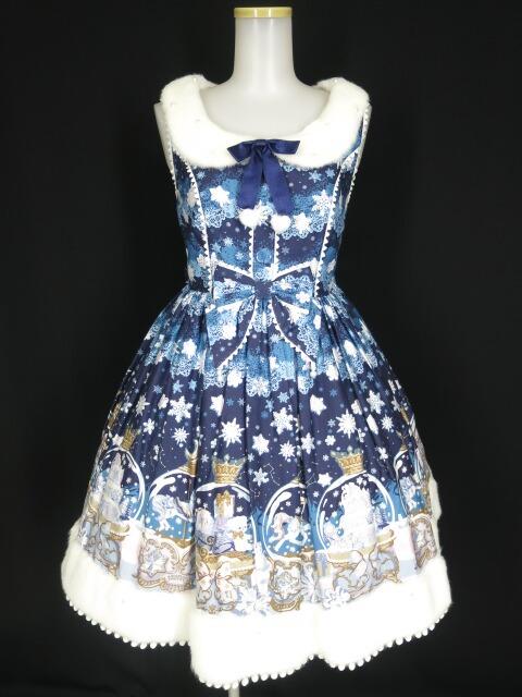 Angelic Pretty Sugar Dream Dome襟付ジャンパースカート