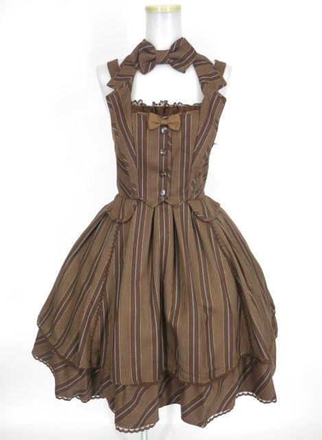 Angelic Pretty Chelseaレジメンジャンパースカート