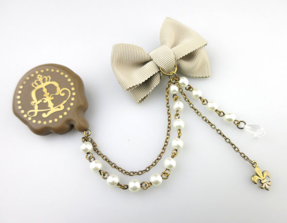 Angelic Pretty Melt Crown Chocolateブローチ