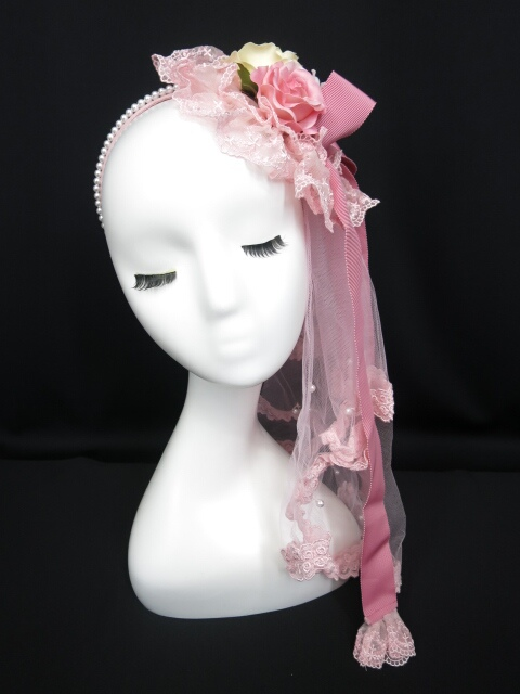 Angelic Pretty Dressy Roseカチューシャ