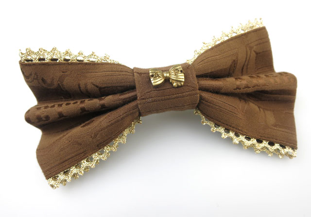 Angelic Pretty Melty Royal Chocolateバレッタ