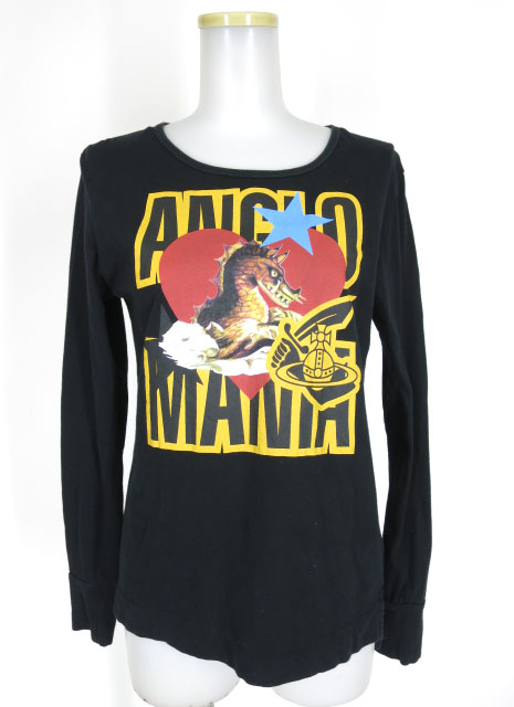 Vivienne Westwood ANGLOMANIA シーモンスタープリント長袖Tシャツ