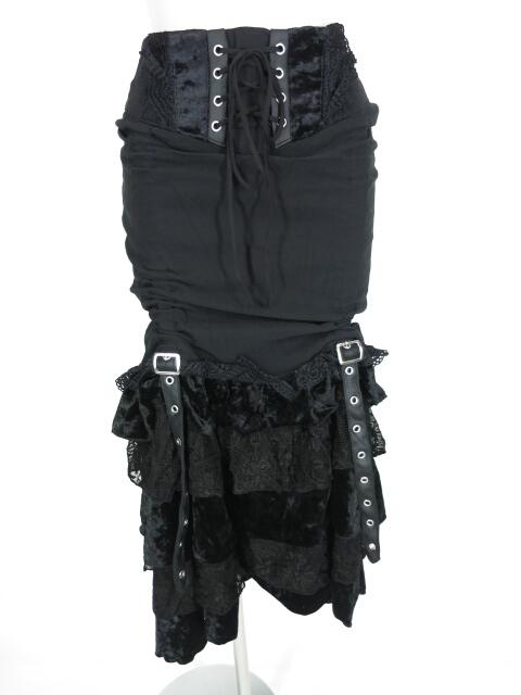 OZZ ONESTE マーメイドフリルロングスカート