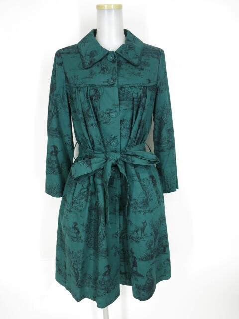 Jane Marple フェアリーテール赤ずきん柄コート