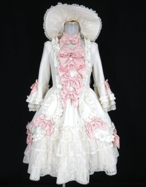 Angelic Pretty ポンパドゥールDress Set (ドレス・チョーカー・ボンネット)
