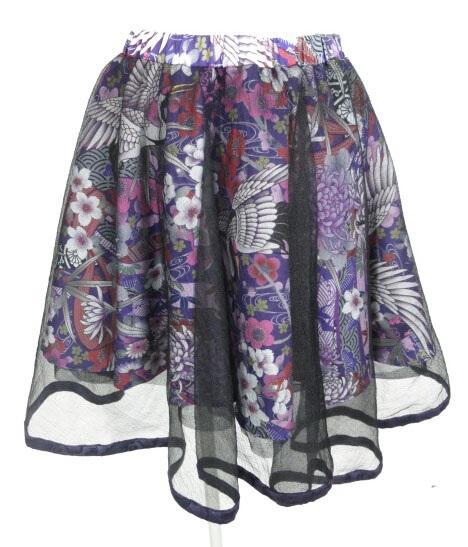 Qutie Frash 和柄サーキュラースカート