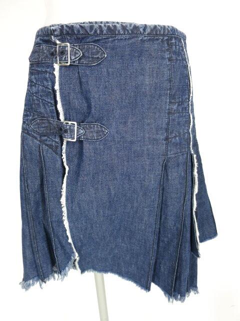 JPG デニム巻きスカート