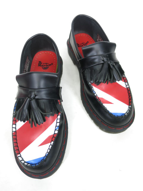 Dr.Martens×The Who ADRIAN WHO ユニオンジャック柄ローファー