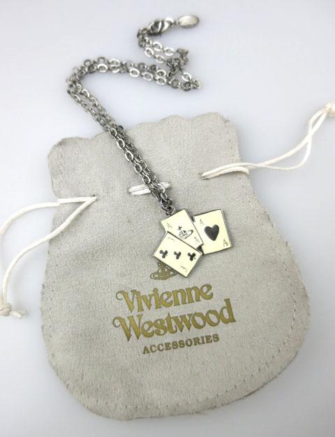 Vivienne Westwood トランプネックレス