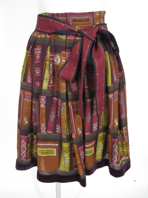 Jane Marple Jane's Bookcase スカート