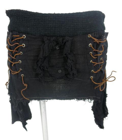 alice auaa 編み上げ付きガーゼミニスカート