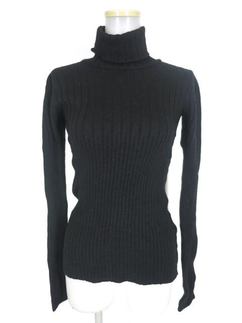 alice auaa タートルネックリブニットセーター