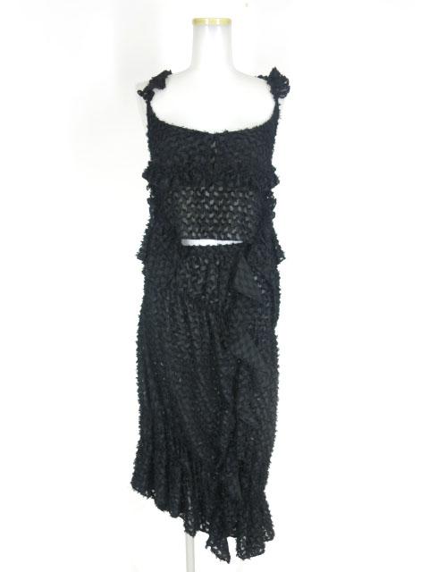 alice auaa シースルージャガードキャミソール&スカート セットアップ
