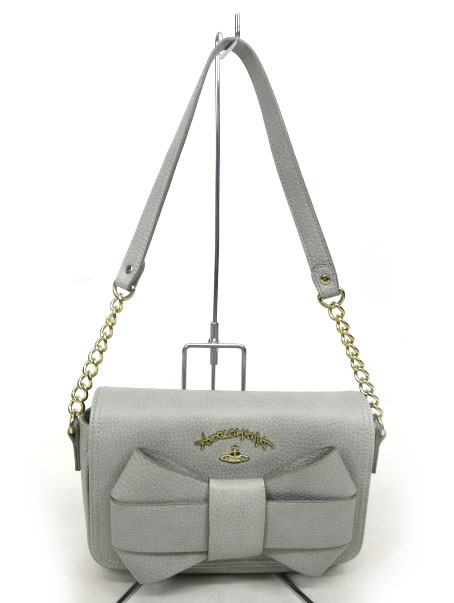 Vivienne Westwood ANGLOMANIA BOW ハンドバッグ