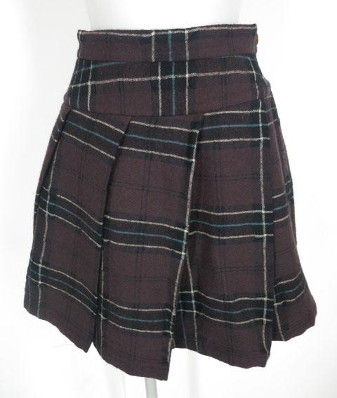Vivienne Westwood RED LABEL チェック柄プリーツスカート