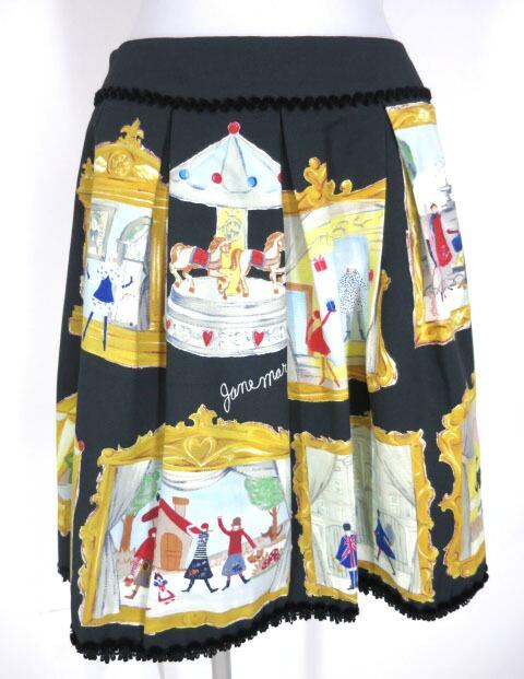 Jane Marple アニバーサリープリントスカート