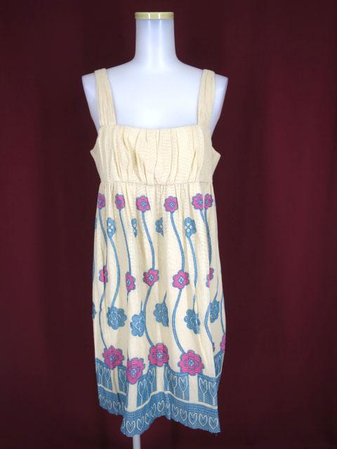 Jane Marple Dans Le Salon フラワーデザインジャンパースカート